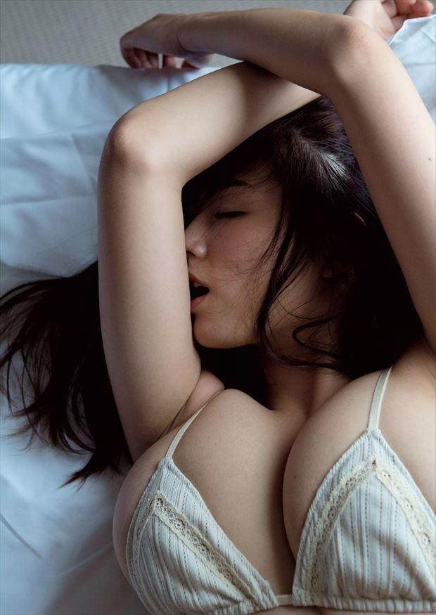 image Sexy asian babe asahi miura gets hairy pussy exposed and dri