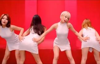 【K-POP】セクシーすぎて韓国で放送禁止になったAOAの「ジッパーダンス」がエロいwwwww【キャプ画像39枚】